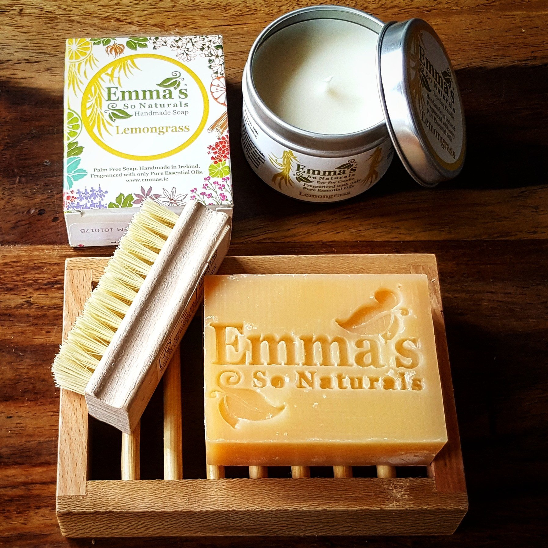 Galentine's Day Gift Emma's So Natural Soap & Eco Soy Wax Gift Set