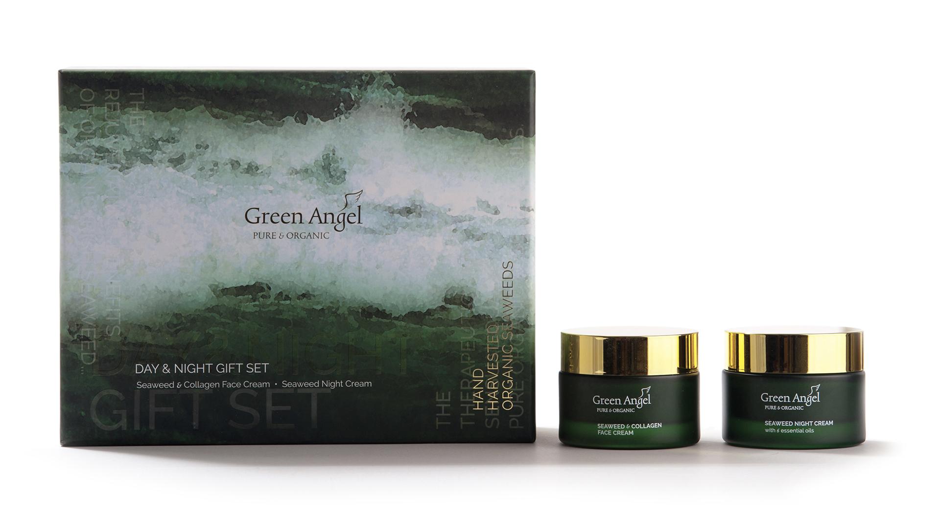 Galentine's Day Gift - Green Angel Day & Night Gift Set