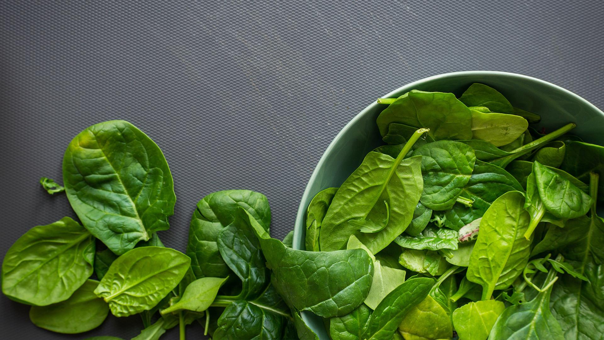 Skin Supplements - Vitamin B2 - Spinach